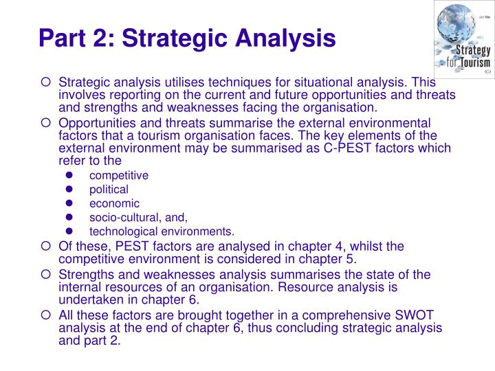 Part 2 strategic analysis