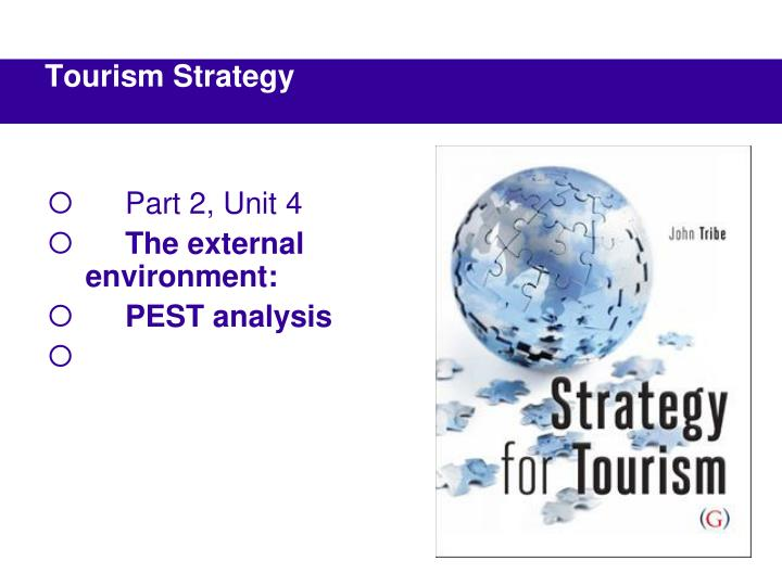 Part 2 unit 4 the external environment pest analysis