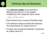 artificial neural networks28