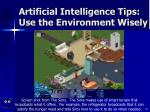 artificial intelligence tips use the environment wisely39