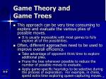 game theory and game trees80