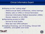 clinical informatics expert16