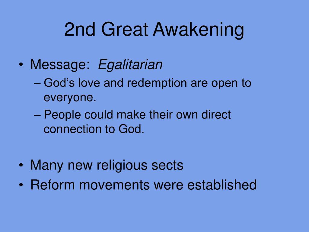 2nd Great Awakening