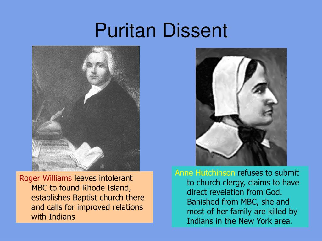 Puritan Dissent