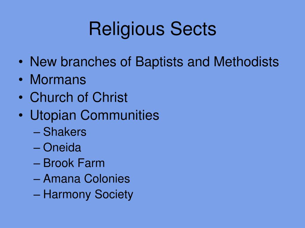 Religious Sects