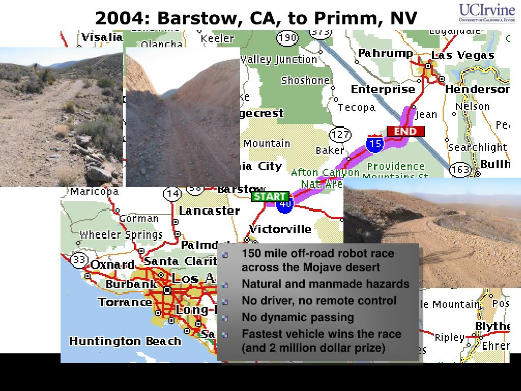 2004: Barstow, CA, to Primm, NV