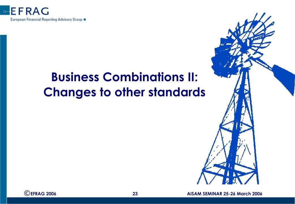 Business Combinations II:
