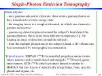single photon emission tomography