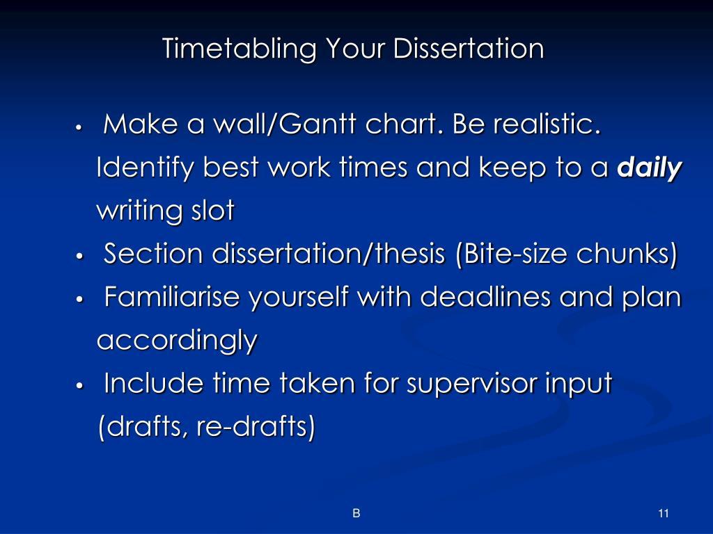 desertation thesis