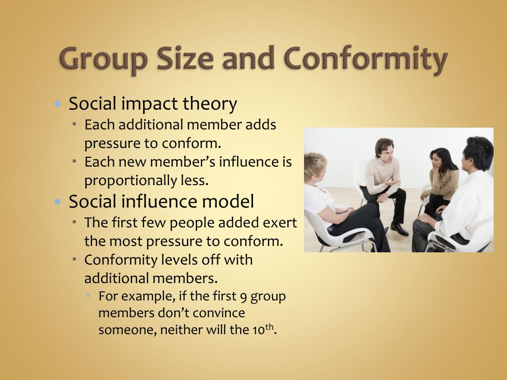Group Size and Conformity