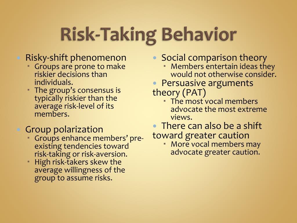 Risk-Taking Behavior