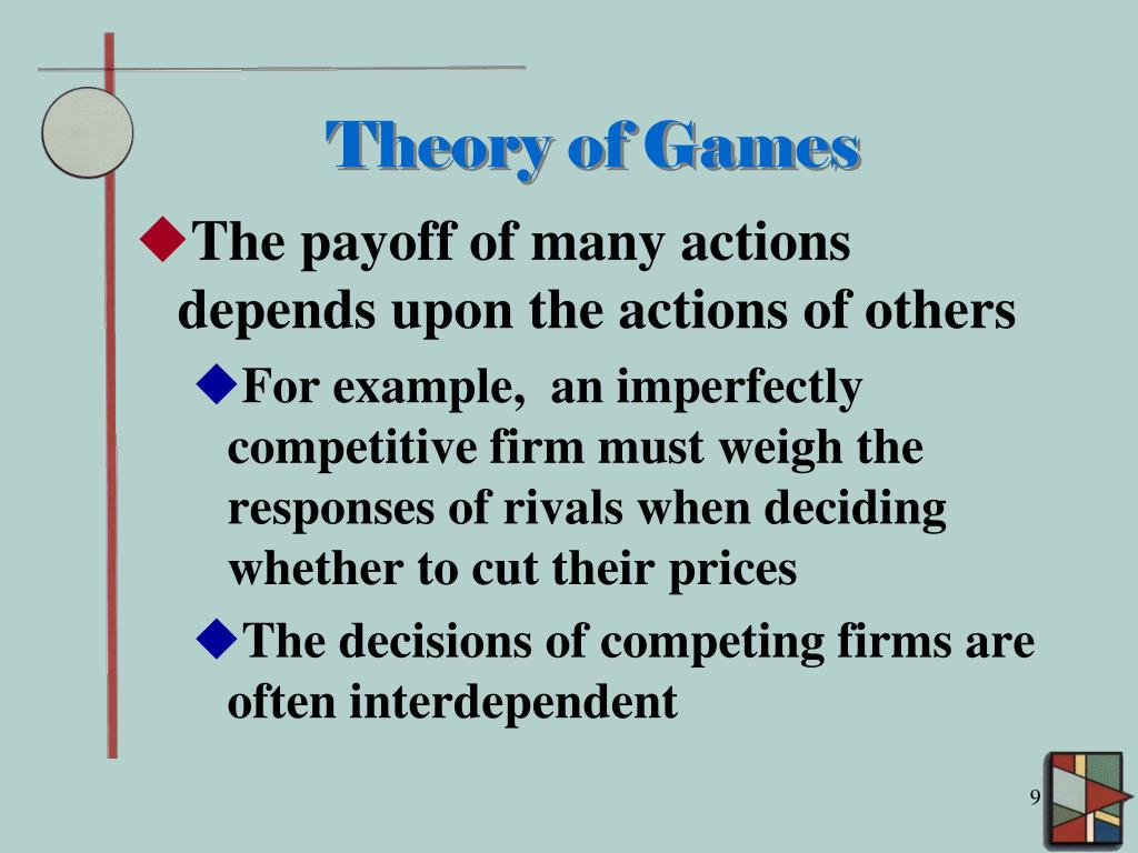 Theory of Games