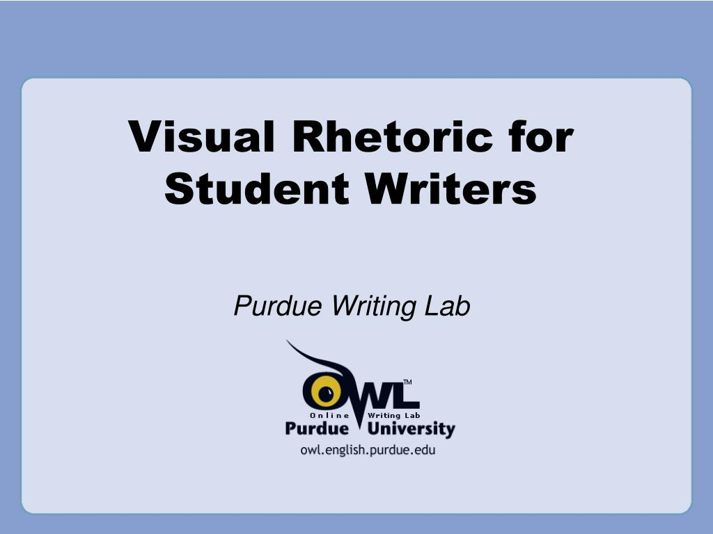writing a visual rhetoric essay