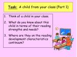 task a child from your class part 1