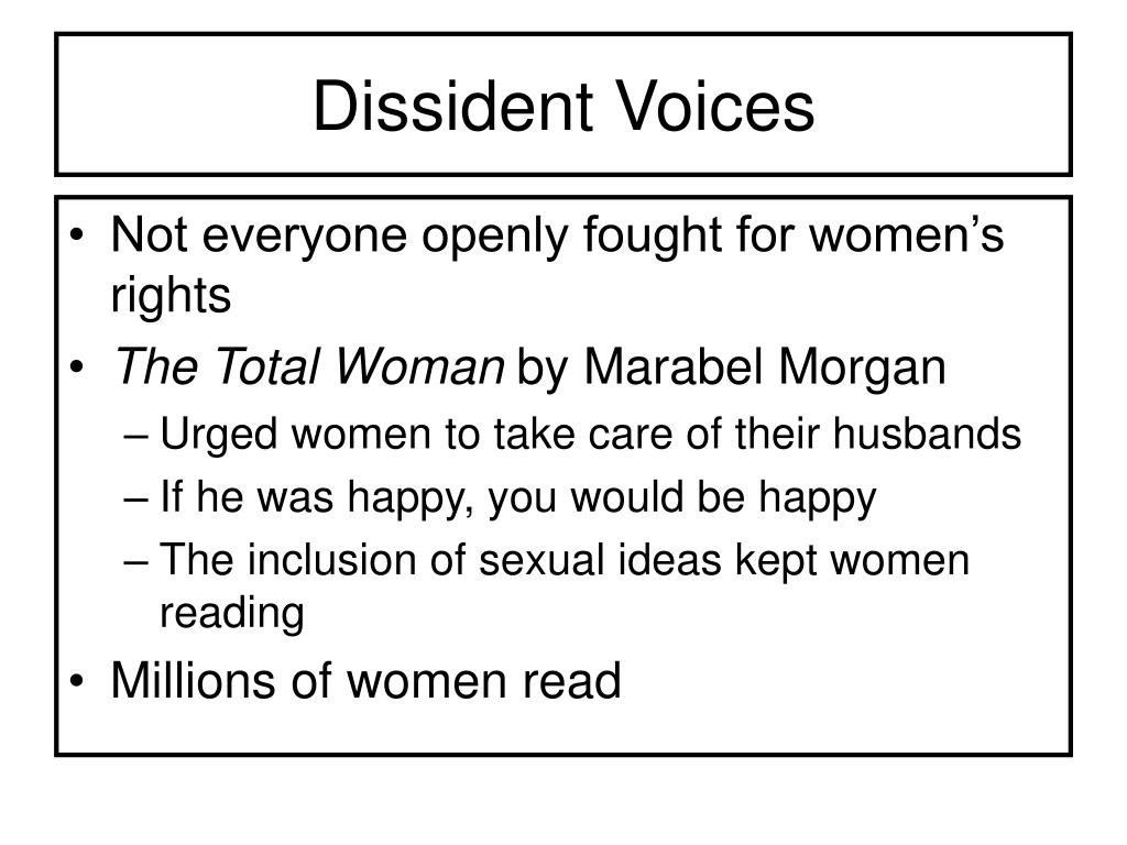 Dissident Voices