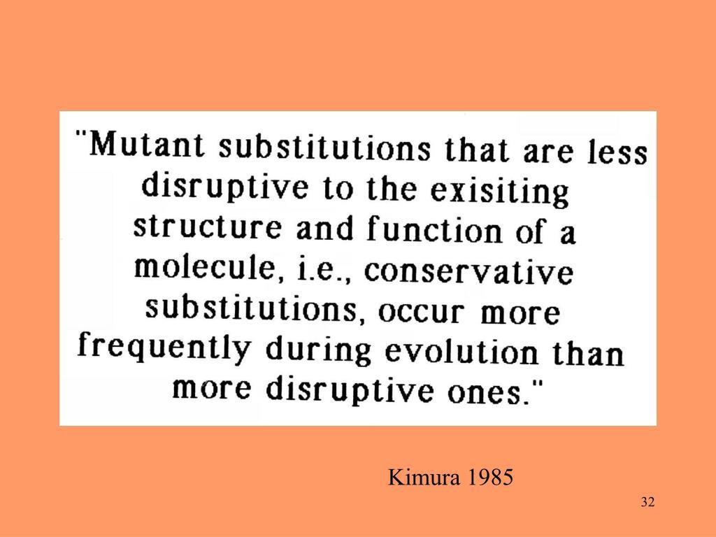 Kimura 1985