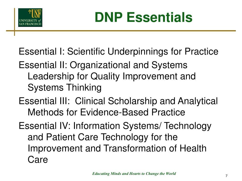 DNP Essentials