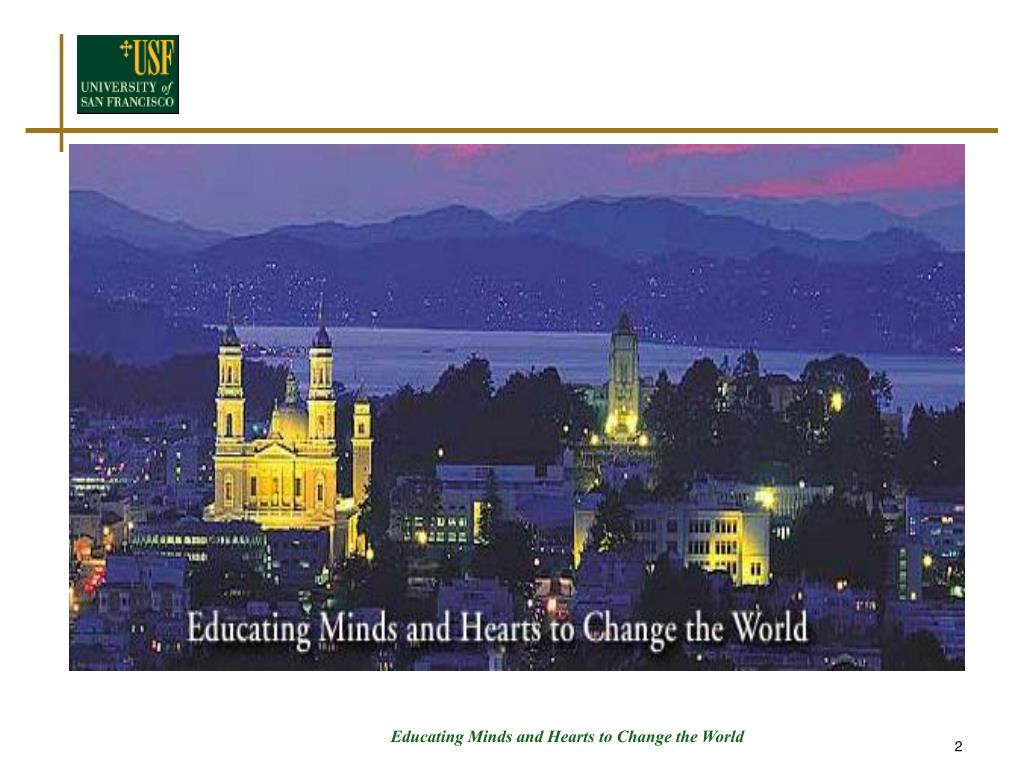 Educating Minds and Hearts to Change the World