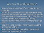 why care about globalization