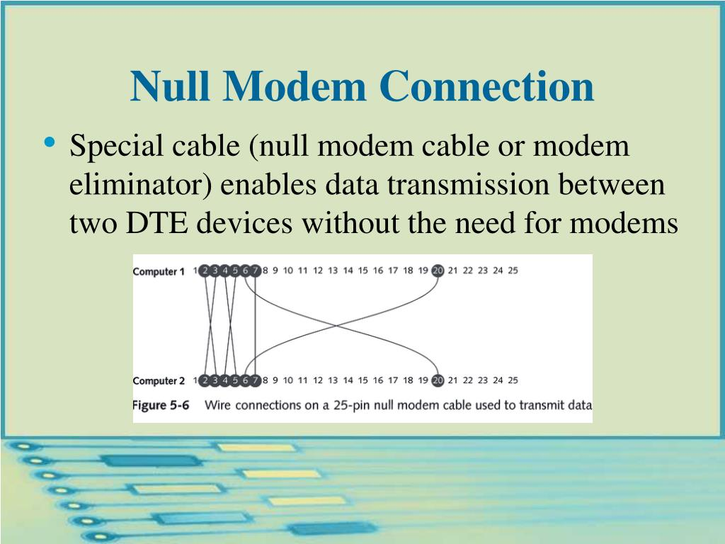 Null Modem Connection