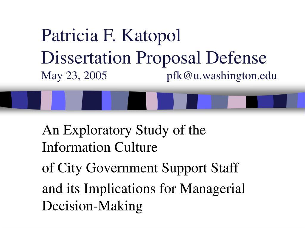 Patricia F. Katopol