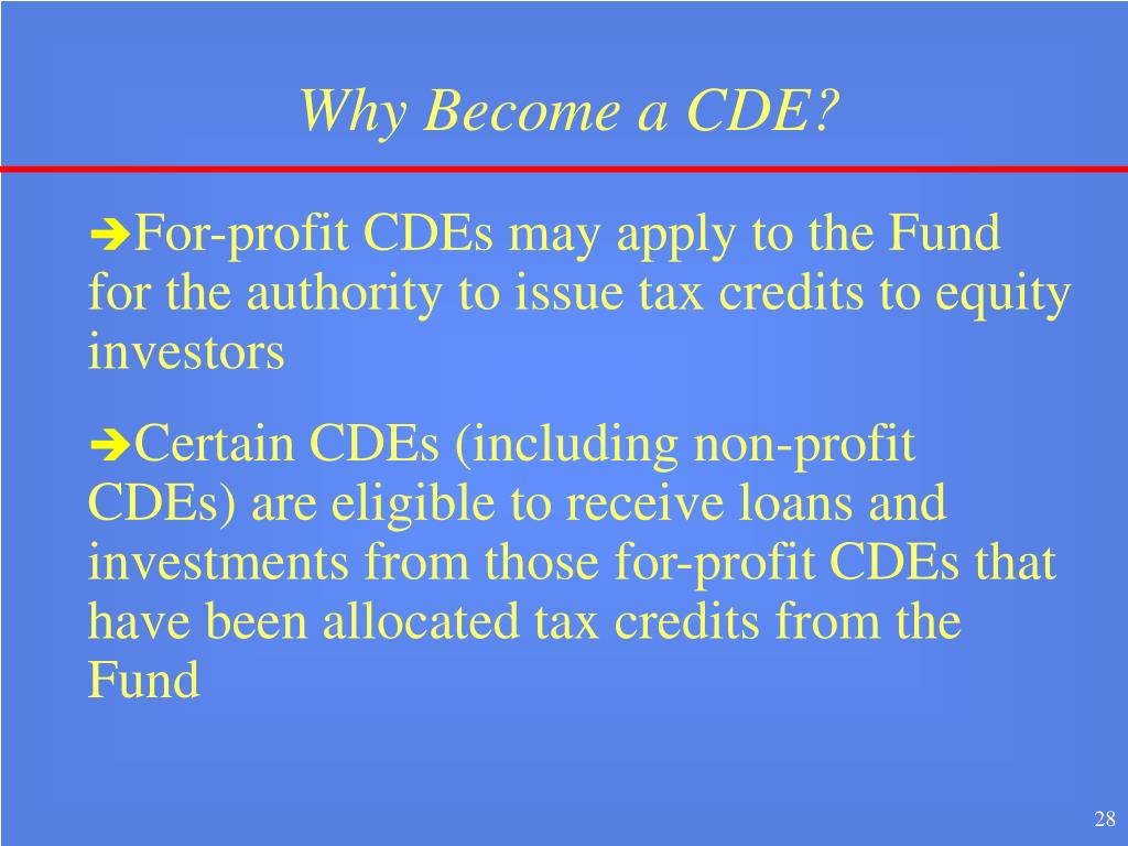 Why Become a CDE?