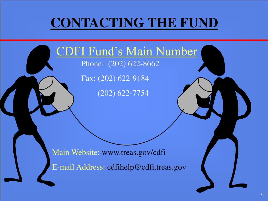 CONTACTING THE FUND