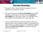 bayesian reasoning19
