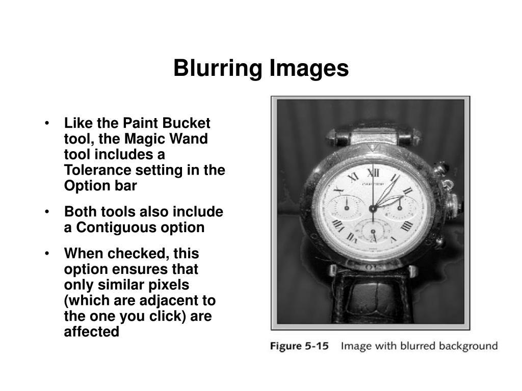 Blurring Images