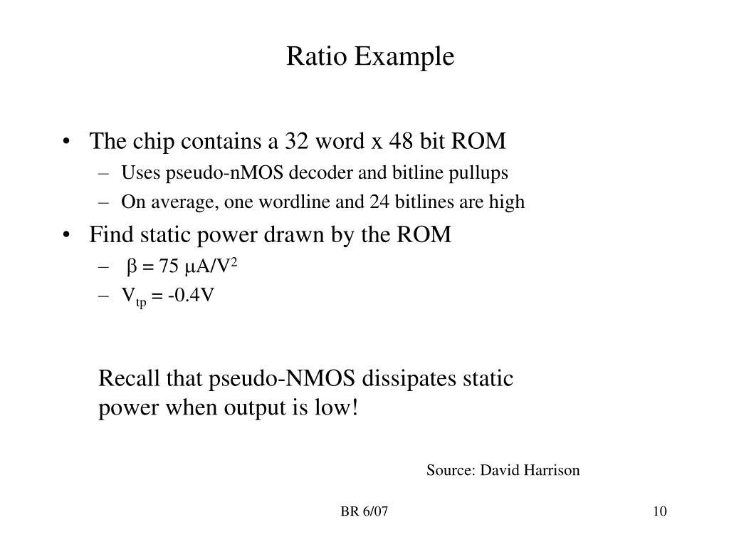 Ratio Example