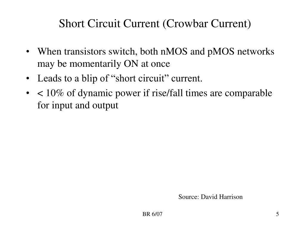 Short Circuit Current (Crowbar Current)