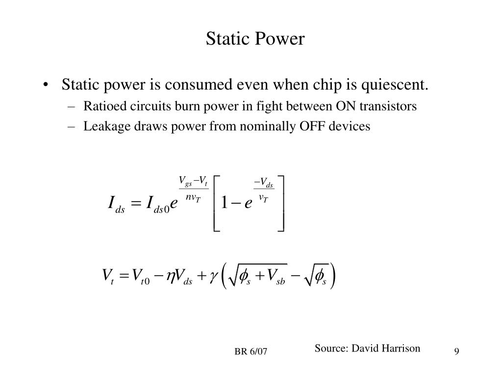 Static Power