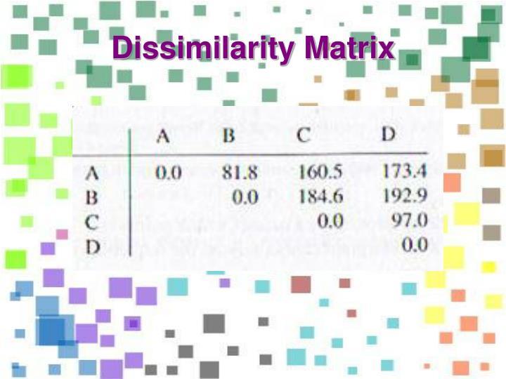 Dissimilarity Matrix