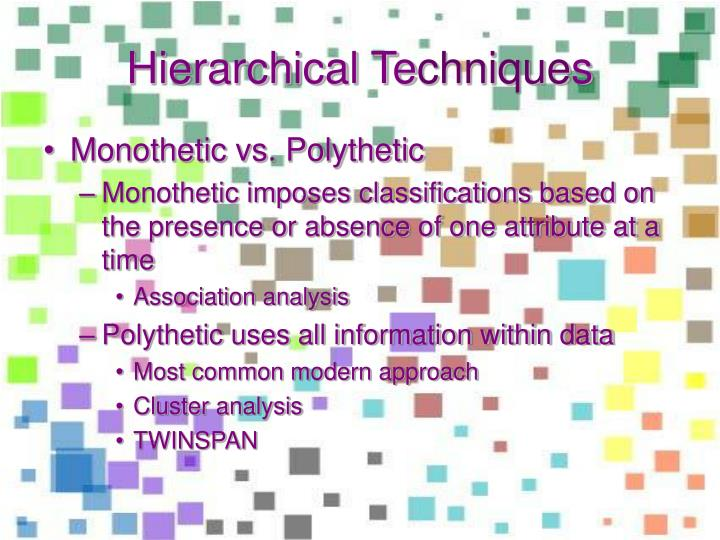 Hierarchical Te