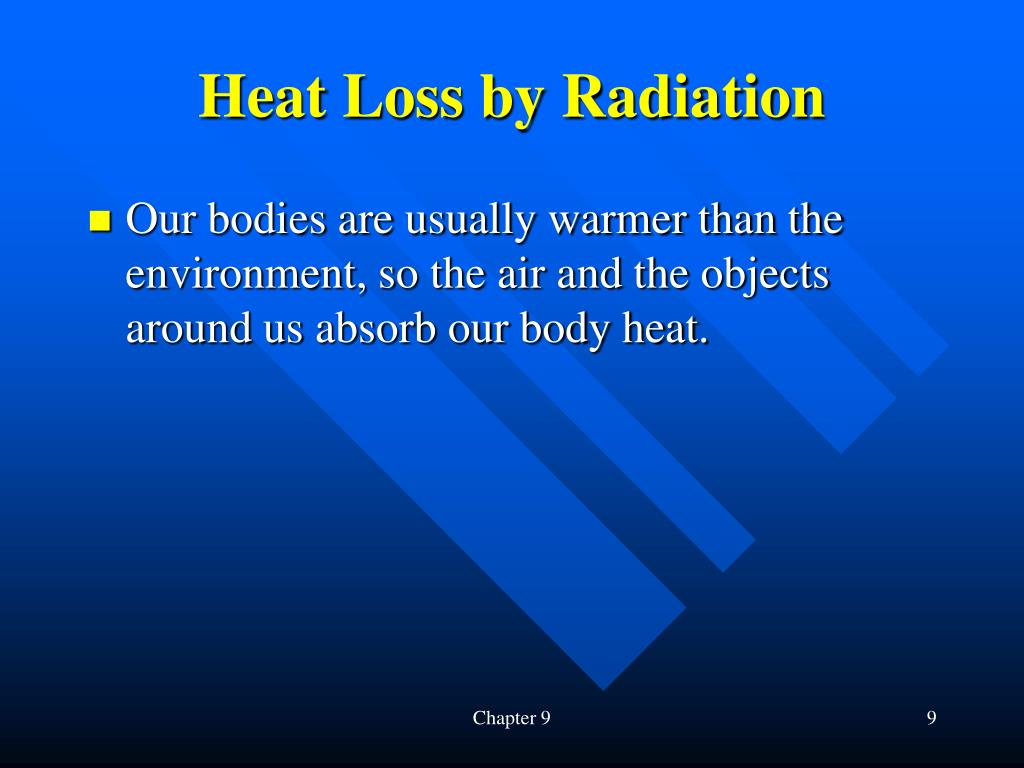 Heat Loss by Radiation