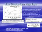 tidal dissipation heat flow14