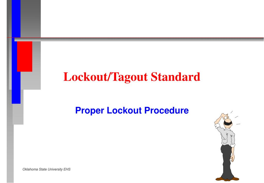 lockout tagout standard