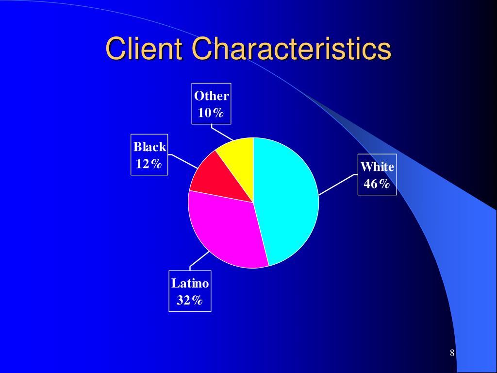 Client Characteristics