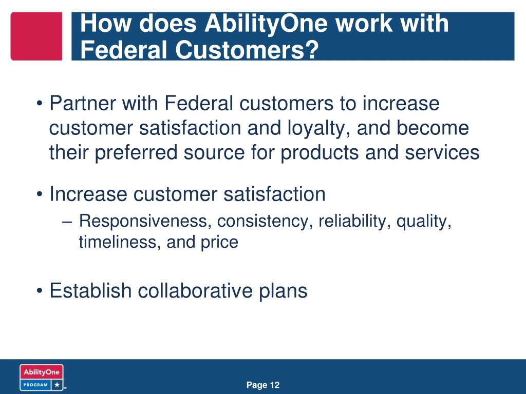 How does AbilityOne work with