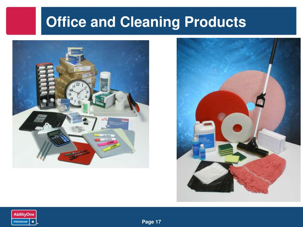 Office and Cleaning Products