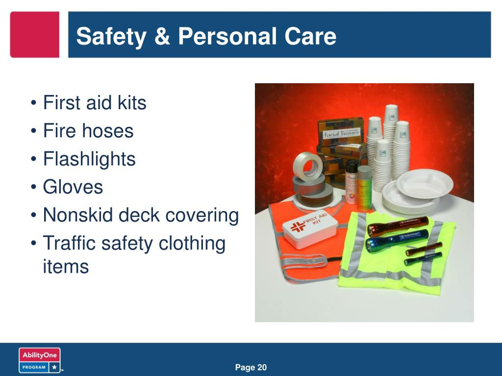 Safety & Personal Care