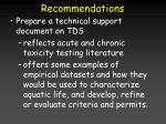 recommendations44