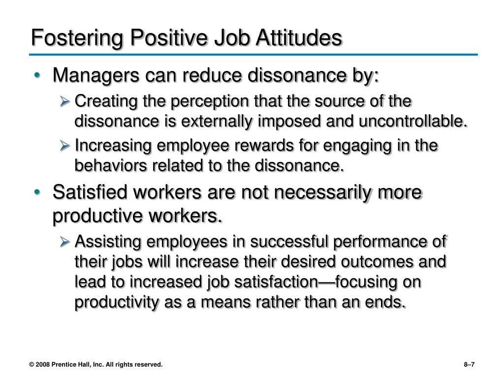 Fostering Positive Job Attitudes