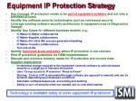 equipment ip protection strategy