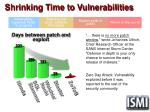 shrinking time to vulnerabilities