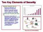 two key elements of security
