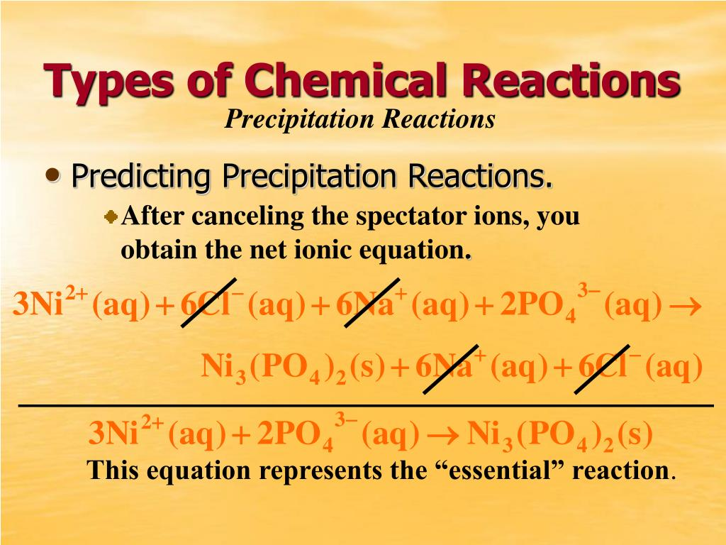 """This equation represents the """"essential"""" reaction"""