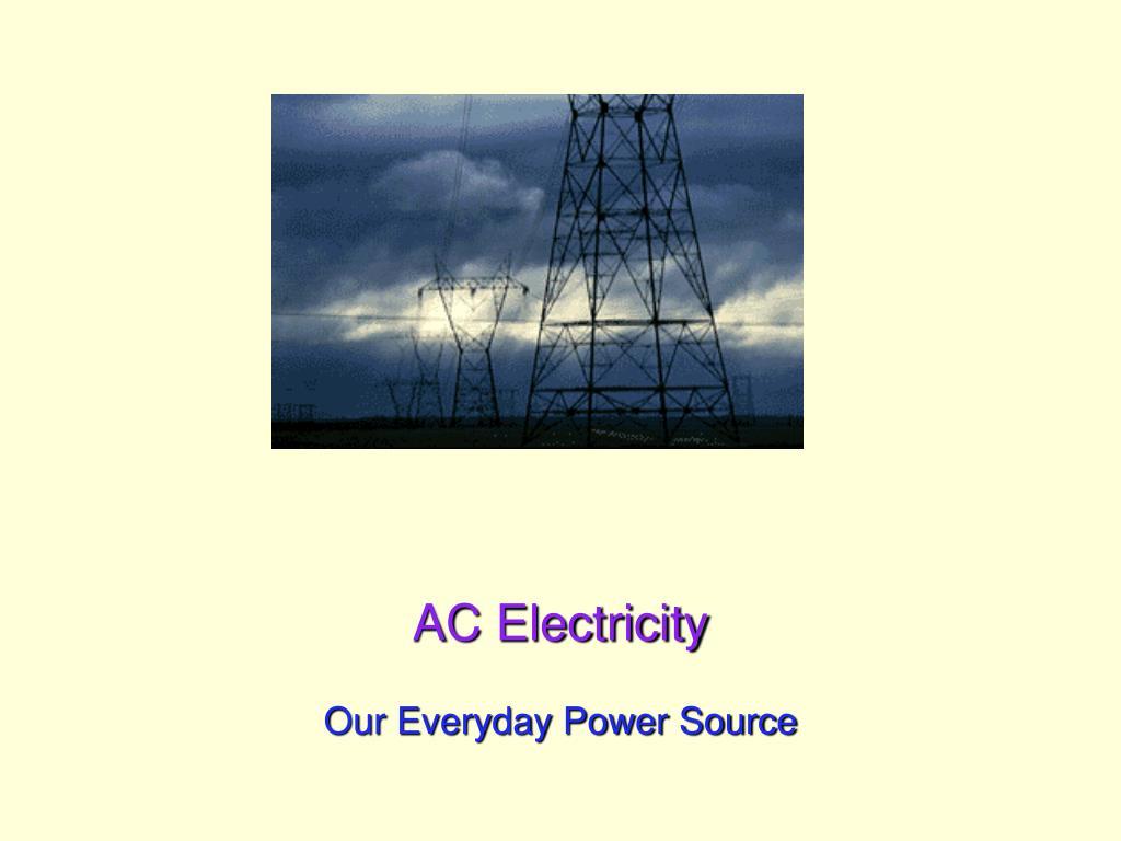 ac electricity l.