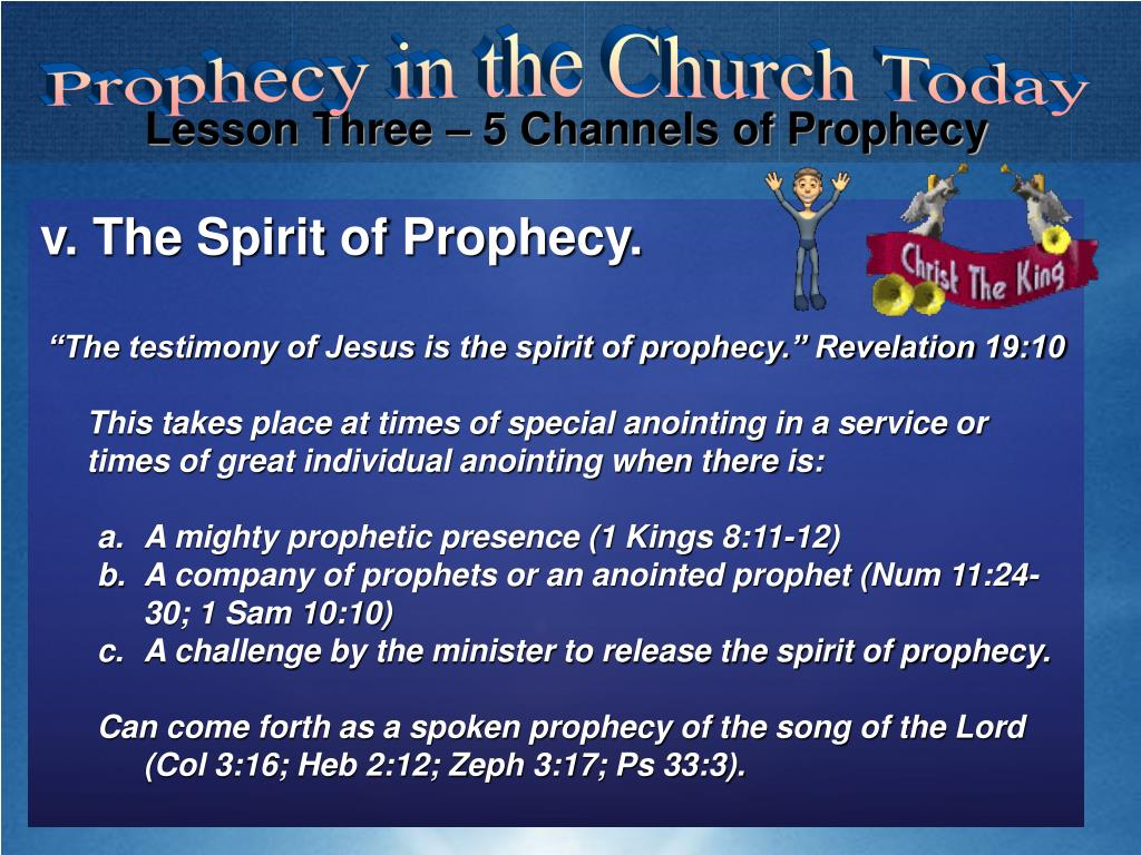 PPT - Introduction: What is Prophecy Today? PowerPoint