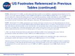 us footnotes referenced in previous tables continued34